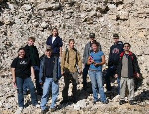 Invertebrate Paleontology Field Trip 2006