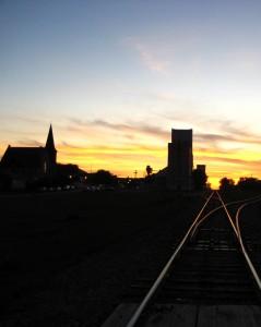 Sunset: Boissevain, MB